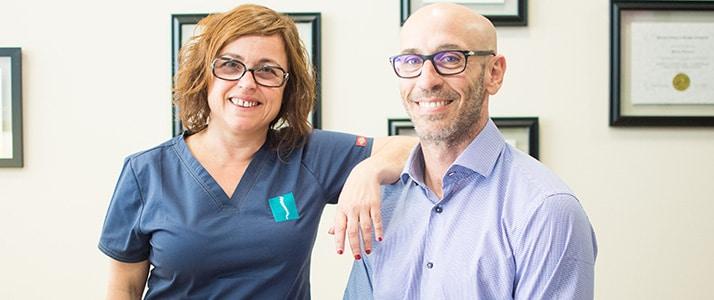 Quiropráctico Mataró, Barcelona Michel Somoza y Olga