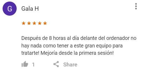 Quiropráctico Mataró, Barcelona Review